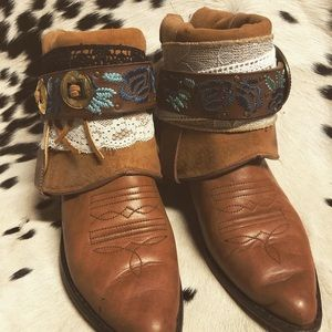 Shoes - Upcycled cowgirl boots